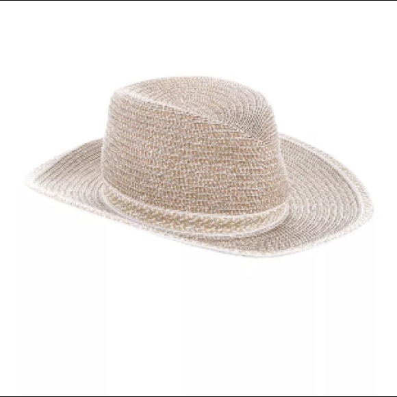 1e81e4605d24 eric javits Accessories - Eric Javits Metallic Fedora Hat